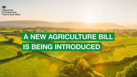 The opening to Defra's new video on the agriculture bill (Photograph: Defra)