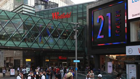 Forever 21 at Westfield Stratford City