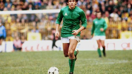 St Etienne's Michel Platini in action. Photo: Panoramic / PA.