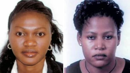 Antoinette, left, and Louise Kaidi have been jailed for 33 months each (picture: PA/NHS Protect)