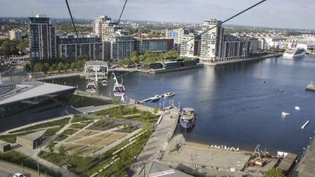 An artist's impression of how The Good Hotel will look in the Royal Docks