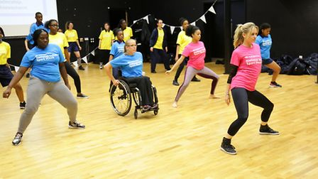 National Sport week launch at the Chobham academy