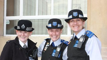 Havering police officers at a community day, pictured earlier this year