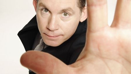 FUNNYMAN: Lee Evans will be appearing at the Marina Theatre in Lowestoft next week - and The Journal