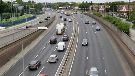 Drivers were recorded travelling up to 100mph on the A13 Newham Way