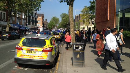 Emergency services have been called to a reported stabbing outside Newham Collegiate