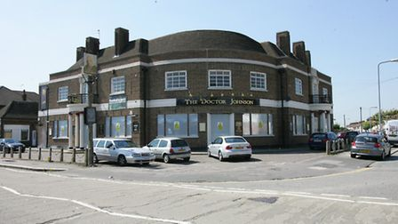 The derelict Doctor Johnson pub in Clayhall has been vacant since 2010.
