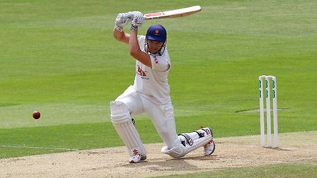 Nick Browne in batting action for Essex (pic: Gavin Ellis/TGSPHOTO)
