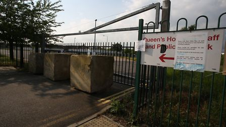 Rom Valley Way car park in Romford closed after a landswap with havering Council, which will enable