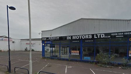 The site in Ley Street, Newbury Park. Picture: Google