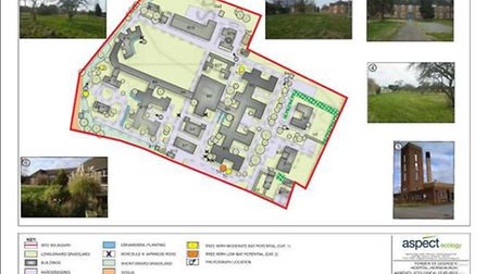 Indicatives plans of the new development at St George's Hospital, Suttons Lane, Hornchurch