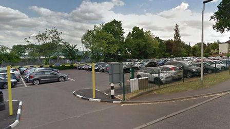 Charteris Road car park, in Woodford Green, where prices have been increased by 22 per cent. Picture