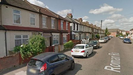 Roman Road, Ilford, where a thief drove off in a car containing two young children, in front of thei