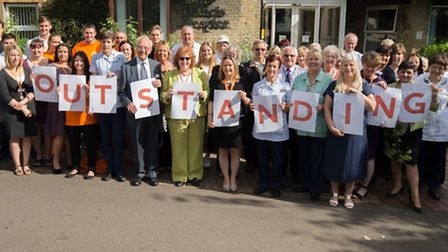 Saint Francis Hospice has been rated outstanding by the Care Quality Commission