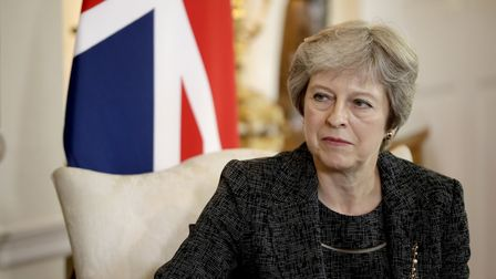 Prime minister Theresa May has been warned her Chequers plan could split the Tories Photo: PA / Mat