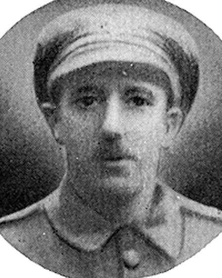 Horace Cowlin, who was killed during the Battle of the Somme. Picture: Whitgift School