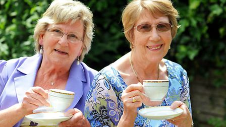 Margaret Charlish and her sister Patricia Harvey are both in the British Red Cross.They have been in