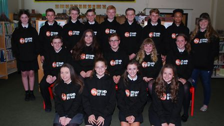 Pupils from Marshalls Park School, travelled to Nepal to help build a school for orphans