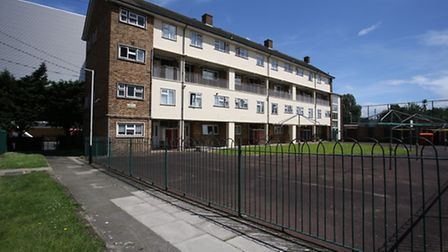 The Waterloo Gardens estate has been earmarked for development as part of Romford's housing zone.