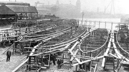 The iron works was one of the last major ship builders in London