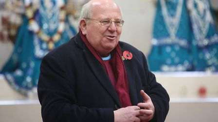 MP Mike Gapes at VHP Ilford Hindu Centre pictured earlier this year.