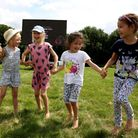 Hainault Forest Country Park held a film festival as part of their summer activities. Florence Rober
