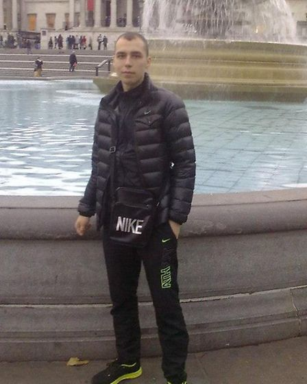 Victim Edgaras Kondrotas was murdered in Forest Gate, Newham, in January Picture: Met Police