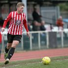 George Purcell in action for Hornchurch. Pic: MARK HODSMAN/TGS PHOTO