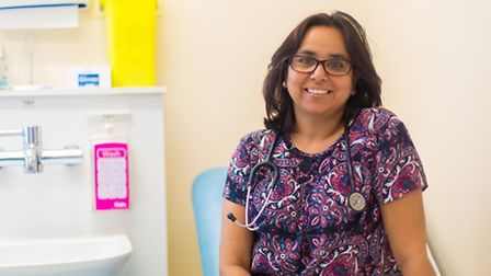 Dr Jyoti Sood from Newbury Park, is helping to launch the NHS' national Be 'Clear on Cancer' campaig