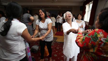 Ilford Indian Hindu Centre celebrated International Yoga Day with a yoga exercise classes and speech