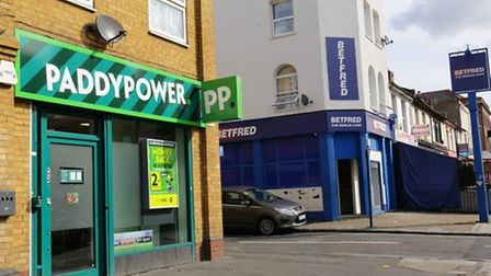 Two betting shops in close proximity, Barking Road, Plaistow