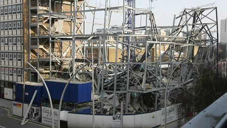 The new City Gates building collapsed during its construction in 2012