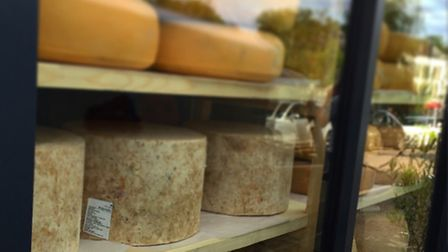 Rare Italian cheeses in Bombetta, in Wanstead, a new restaurant and deli which has just been granted