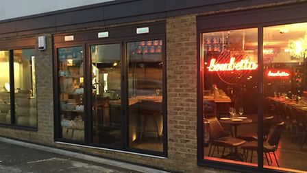 The outside of Bombetta, in Wanstead, a new Italian restaurant and deli which has just been granted