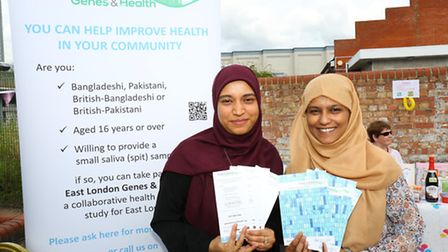 The patients at the Ilford Medical Centre in Cleveland Road, holding a fete to raise awareness for