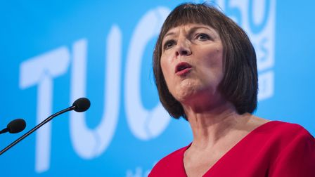 TUC general secretary Frances O'Grady who has attacked the government's handling of Brexit Photo: P