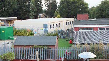 Whybridge Infant School has had a classroom extended outside of planning permission.