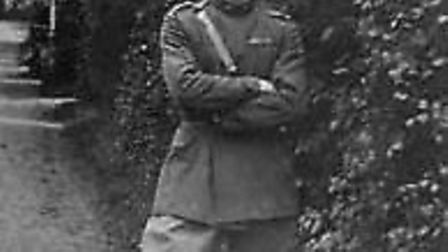 Lt William Leefe Robinson VC of RAF Hornchurch, was the first British pilot to shoot down a German a
