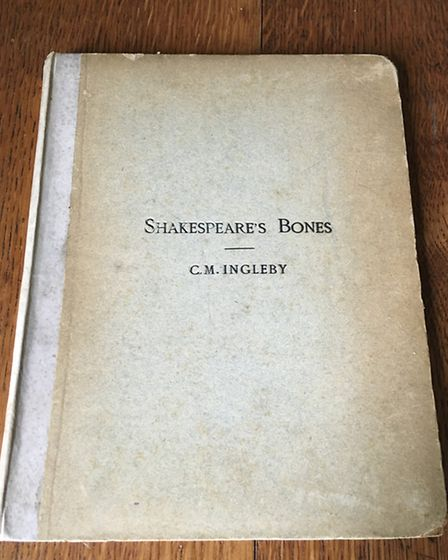 A picture of Shakespeare's Bones, by Clement Ingleby a former Valentines Mansion resident, will be e