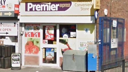The Premier Express store in Chase Cross Road