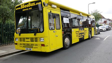 The Bumble Bee bus
