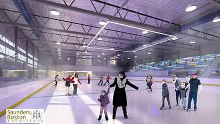 An artist's impression of Romford's new leisure centre. Picture: Havering Council