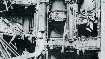 The Ilford Hippodrome was hit by a German rocket in January 1945 and was later destroyed.