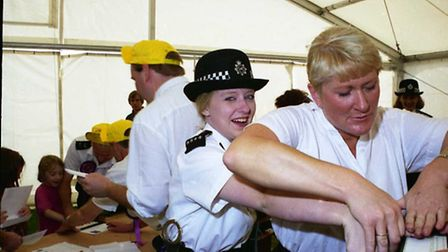 The 1996 Chigwell Police Show, held this week 20 years ago, thrilled parents and children alike.