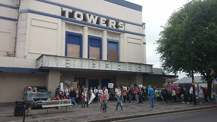 The Towers Cinema faces possible demolition in the coming weeks.