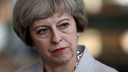 Theresa May Picture: Neil Hall/PA