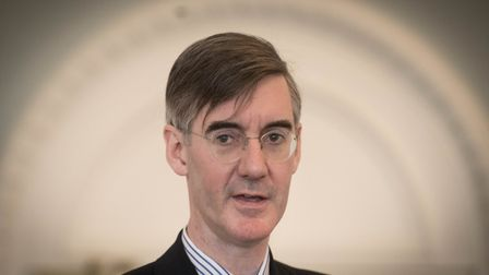 Jacob Rees-Mogg, chairman of the ERG, might fancy a run at Number 10