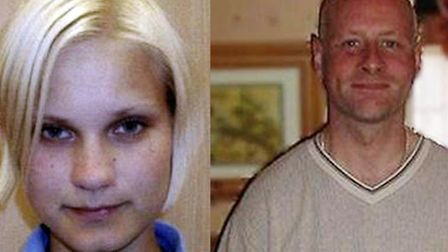 Jason Dockrill, right, who was convicted in 2004 for the brutal murder of Finnish student Suvi Arone