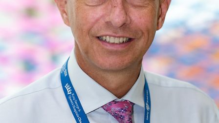 Matthew Hopkins, who oversees King George hospital in Goodmayes, has been listed one of the top 1,00