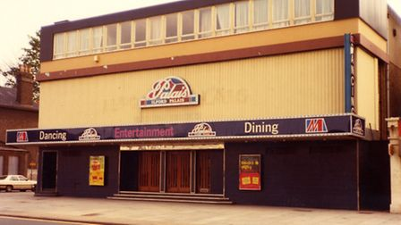 The Ilford Palais, in High Road Ilford. [Picture: Copyright Mr R Swain (1983) and courtesy of Redbri